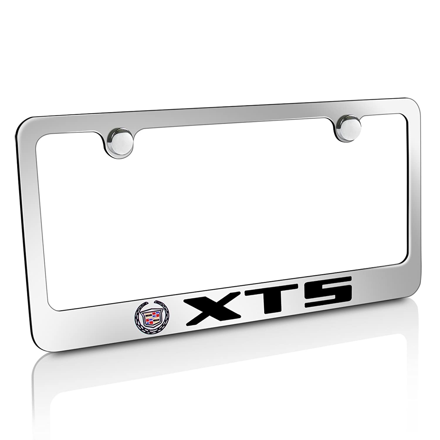 Amazon.com: Cadillac XTS Chrome Brass License Plate Frame: Automotive