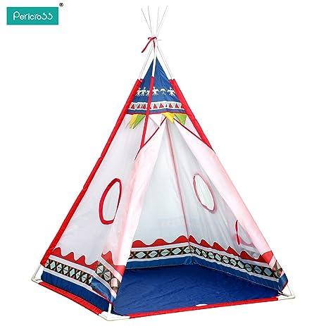 Pericross Kids Teepee Play Tents Children Wigwam Tent  sc 1 st  Amazon.com & Amazon.com: Pericross Kids Teepee Play Tents Children Wigwam Tent ...
