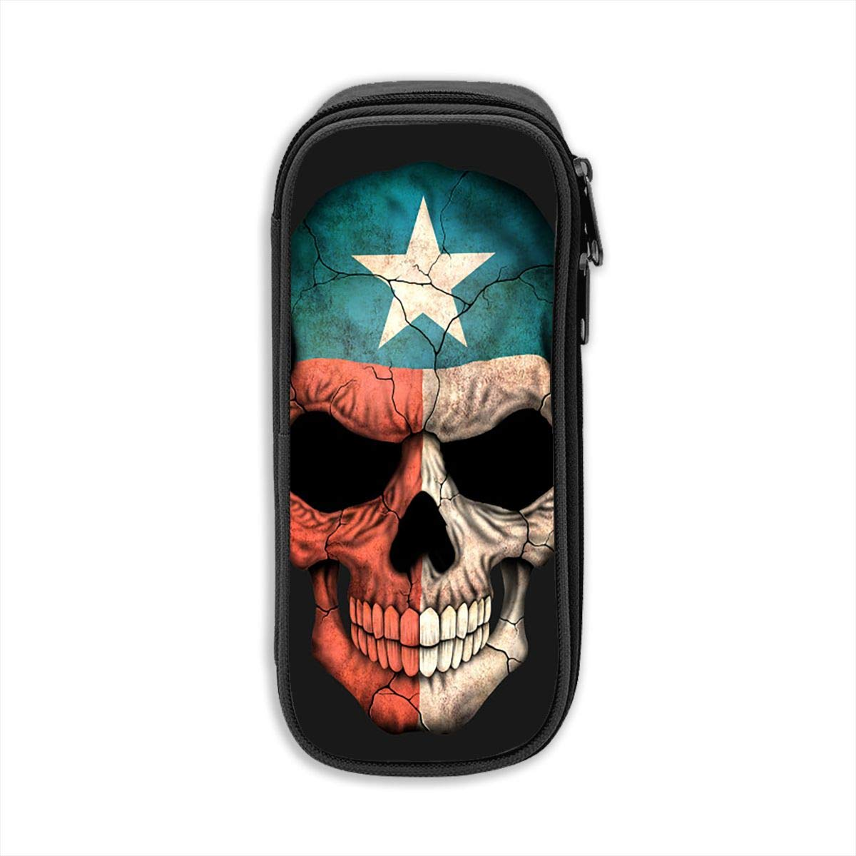 WJHONi WJHONi WJHONi Horizon-t Bandera mexicana Hombres Multifuncional Lona Pen Bolsa Estuche Maquillaje Bolsa de herramientas Bolsa de almacenamiento Bolsa 7fc07d