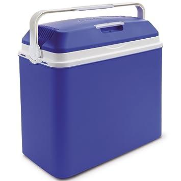Nevera portátil eléctrica 24 L, plástico, 40 x 37 cm, azul ...