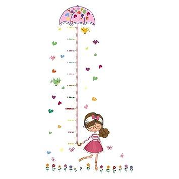 Amazon Uniquebella Pvc Height Measurement Growth Chart For Kids