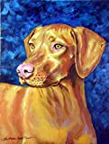 Caroline's Treasures 7289CHF Vizsla Flag Canvas, Large, Multicolor For Sale