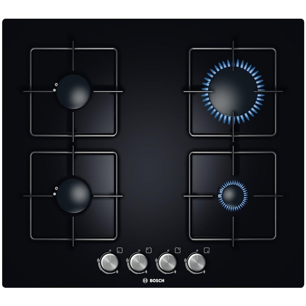 Bosch PPP616B11E hobs a gas 4 zonas de cocción Color Negro ...