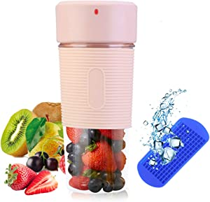 Portable Blender/Mini Personal Blender with 350ML BPA-Free Juicer Cup/Smoothie Blender, Fruit Mixer for Juice, Smoothie and Milkshake