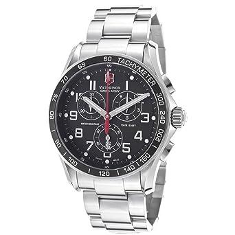 amazon com victorinox swiss army chrono classic mens watch 241443 victorinox swiss army chrono classic mens watch 241443