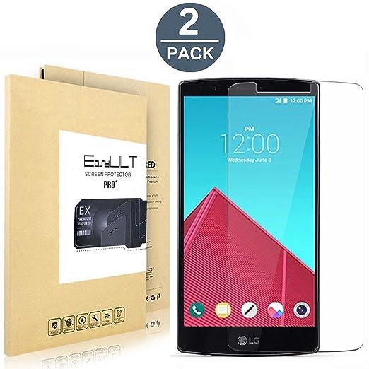 22 opinioni per [2-Pack]LG G4 H815 vetro Pellicola Protettiva, EasyULT 2 Pack Pellicola