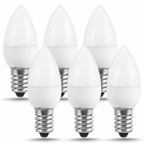 JandCase - Bombilla LED C7 de 1 W, luz nocturna LED (10 W equivalente