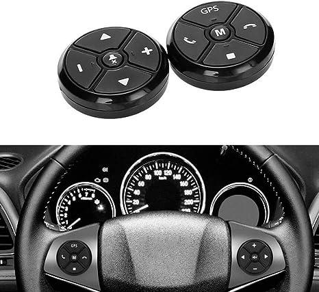 DONGMAO Bluetooth Wireless 3.0/Media Button car Motorcycle Volante Music Play telecomando per iOS//Android