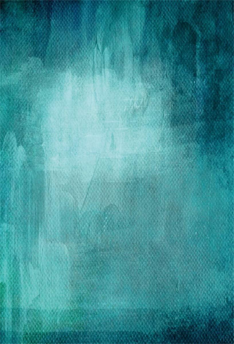Yeele Gradient Blue Backdrop 10x10ft Dark Blue Textured Background Child Adult Artistic Portrait Work Event Banner Room Decoration Photo Booth Photoshoot Studio Props Wallpaper
