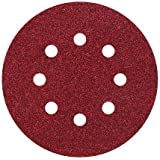 Wolfcraft 2251100 25 Disques Abrasifs Auto-agrippants Ø 125 Mm, Perforés, Corindon Grains 120