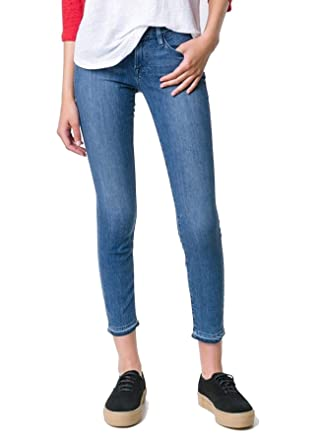 Frame Denim Le Skinny Crop Mid Rise Jeans (Osage, 32) at Amazon ...