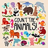 Count the Animals!: A Fun Picture Puzzle Book for 2-5 Year Olds