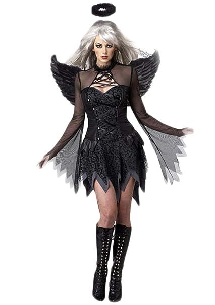 Disfraces para mujer con vestido negro