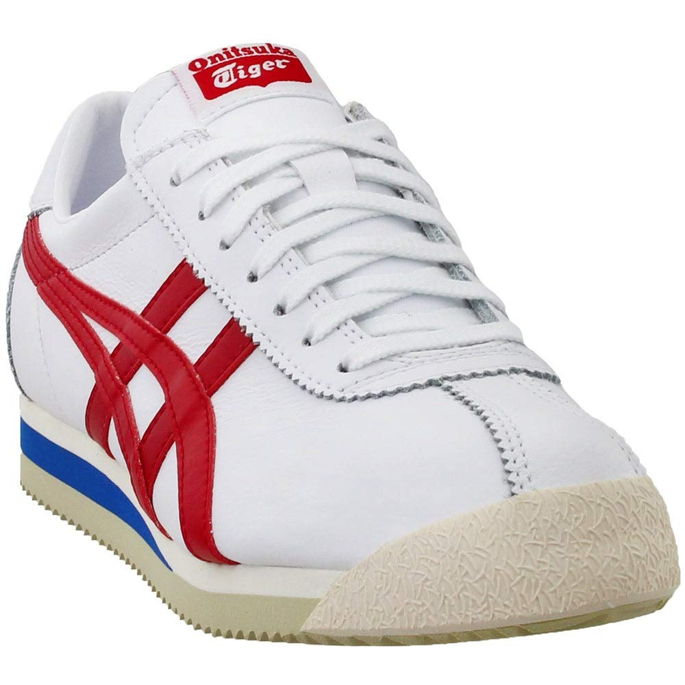 new style 4d87d e6495 Amazon.com: Onitsuka Tiger Asics Corsair White/True Red: Shoes