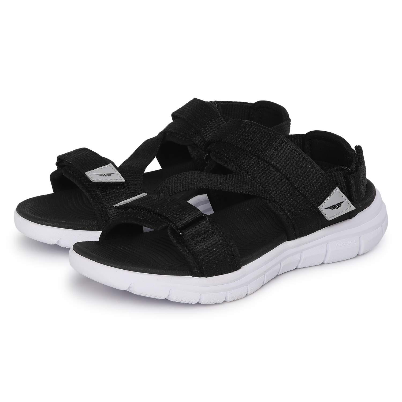 Buy Red Tape Women's Black Sport Sandal
