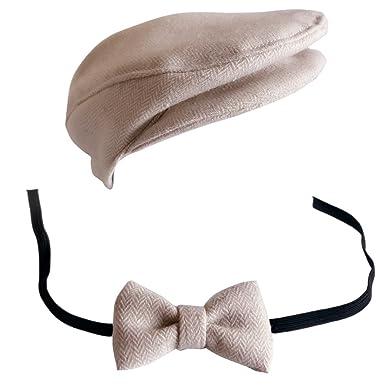 089142b10685 ARAUS-Casquette Cravate pour Bébé Garcon Fille Baseball Bonnet Beret Chapeau  Ensemble Photo Bébé Accessories