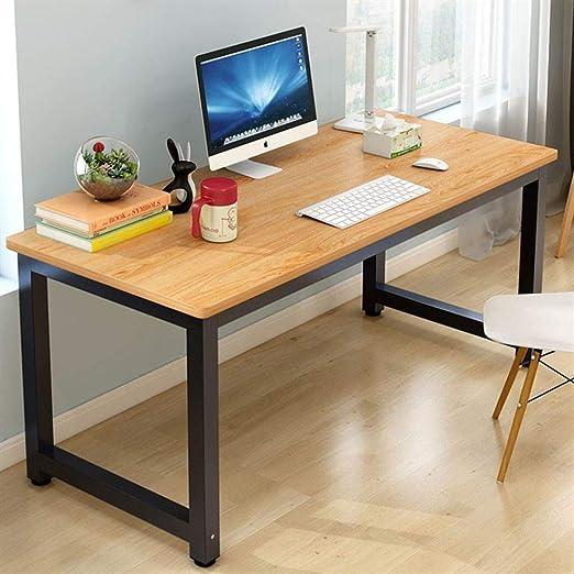 YQ WHJB Oficina Simple Grande Mesas para Ordenador,Inicio ...