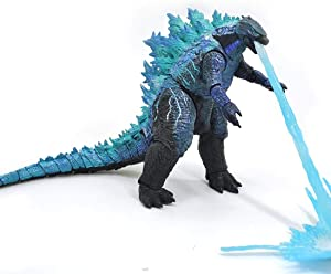 OOKVIVI 2019 Godzilla: King of The Monsters, Godzilla V2 Action Figure Head-to-Tail 12 Inch Statue Model Toy Best Gift