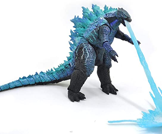 2019 Godzilla: King of The Monsters, Godzilla V2 Action Figure Head-to-Tail 12 Inch Statue Model Toy Best Gift
