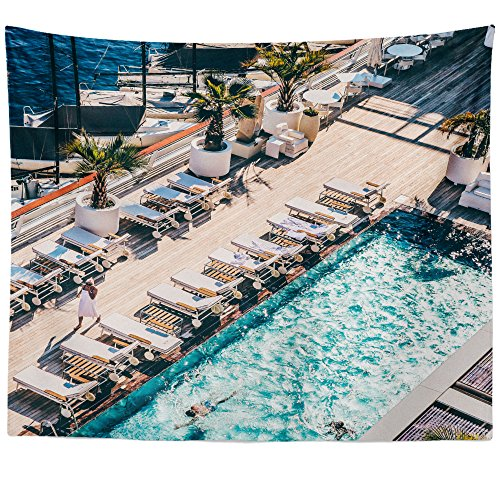 (Westlake Art - Wall Hanging Tapestry - Sea Holiday - Photography Home Decor Living Room - 51x60in)