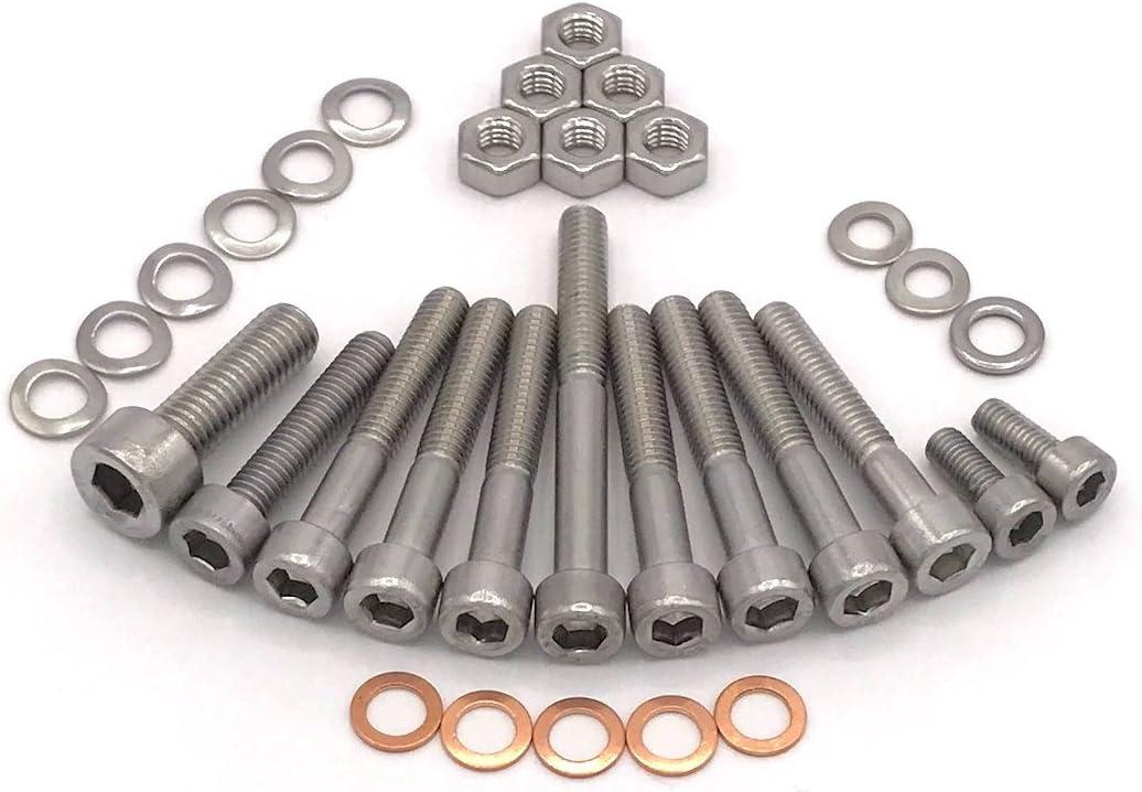 Simson S50 Motor M53 2 Zylinderschrauben Mit Innensechskant Edelstahl 32 Teilig Auto