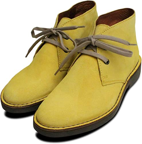 Kebo Taxi Yellow Suede Womens Italian