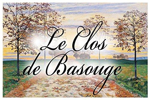 AzulDecor35 Plaque de Maison C/éramique avec Nom de famille 20x30X0,8cm Choisissez votre texte personnalis/é Nom de villa