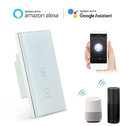 Amazon.com: FOONEE Wifi Dimmer Switch, Home Decoration Smart Dimmer ...