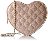 Jessica McClintock Heart Clutch Shoulder Bag