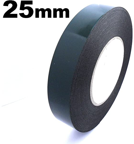 Car Body Trim Moulding Double Sided Extra Strong Tape 25Mm X 10M Fixing Strip