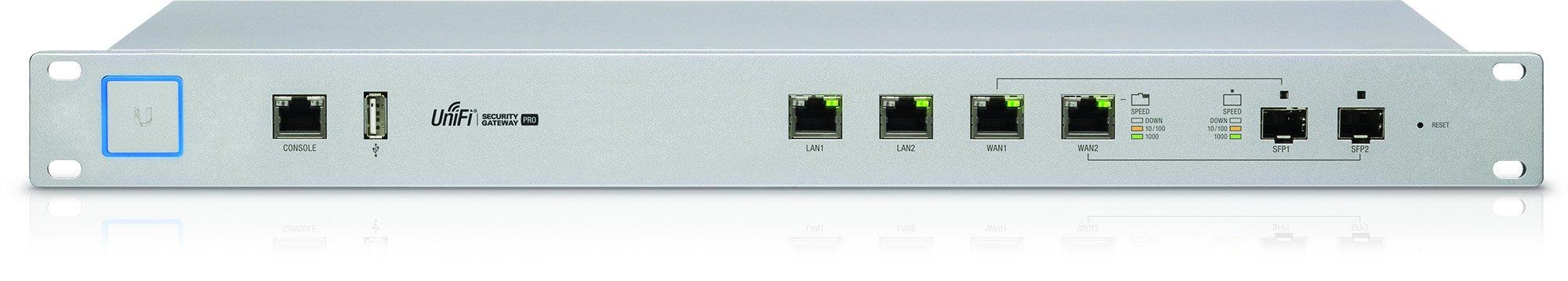 Unifi Security Gateway Pro 4-Port 1 Rack mount design Convenient VLAN support Form Factor: Rack-mountable