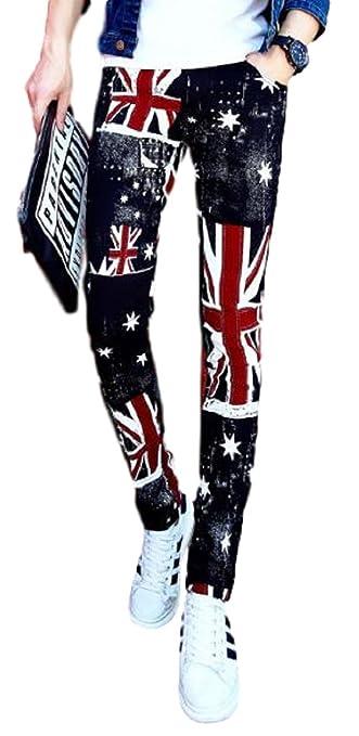 f37d46a2c428bb Amazon.co.jp: ADCRAS (アドクラス) メンズ スキニー パンツ 柄物 ズボン ストレッチ タイト イギリス 国旗 柄  ユニオンジャック 個性的 原宿系 (30): 服& ...