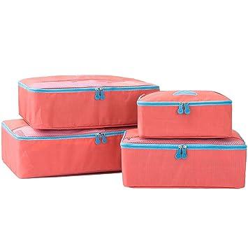 Thomtery - Organizador para maletas Mujer unisex-niños unisex Niños Hombre rojo Wassermelonen rot S M L XL: Amazon.es: Equipaje