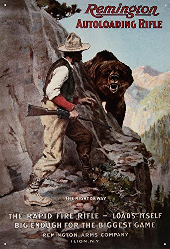 Remington Autoloading Rifle Hunting Vintage product image