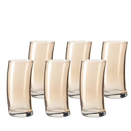 Leonardo 014797 Juego de 6 Vasos para Agua pequeños Barro de ...
