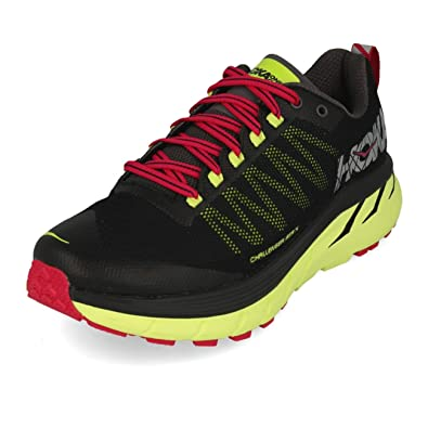 Hoka One - Zapatillas para Correr en montaña para Mujer Negro/Verde, Color, Talla US 6.5 | EU 38: Amazon.es: Zapatos y complementos