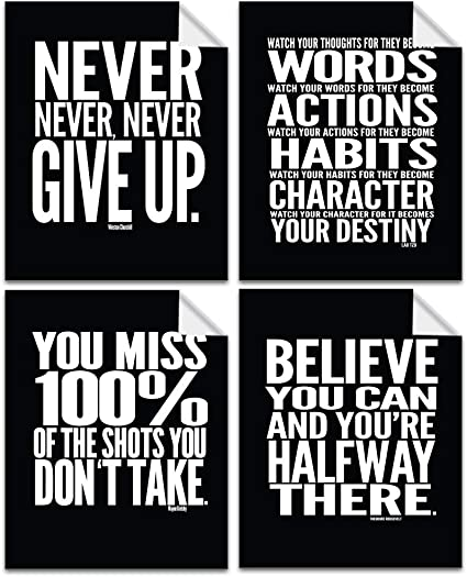 Lushleaf Designs - Motivational Quote Workout Gym Posters - 8
