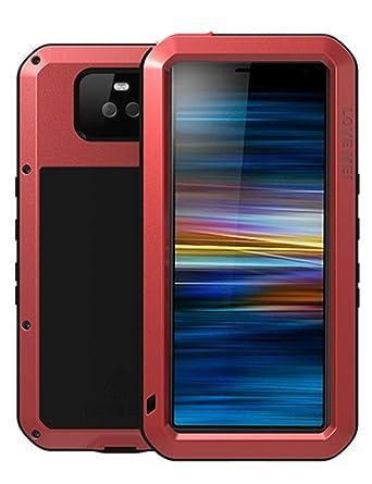 Amazon.com: GFU - Carcasa para Sony Xperia 10, cristal ...