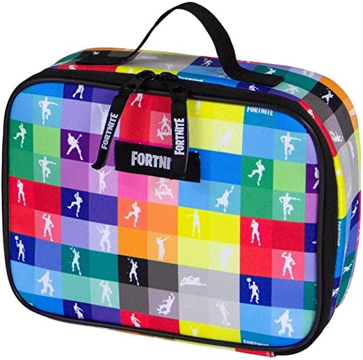Fortnite Game School Soft Lunch Box Tote Kit for Boys Dancing