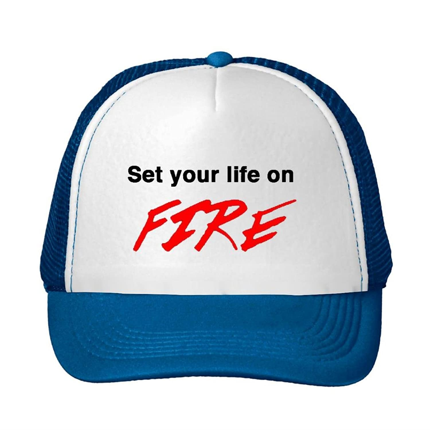 Corey Fantastic Baseball Cap Set Your Life On Fire Snapback Trucker Hat