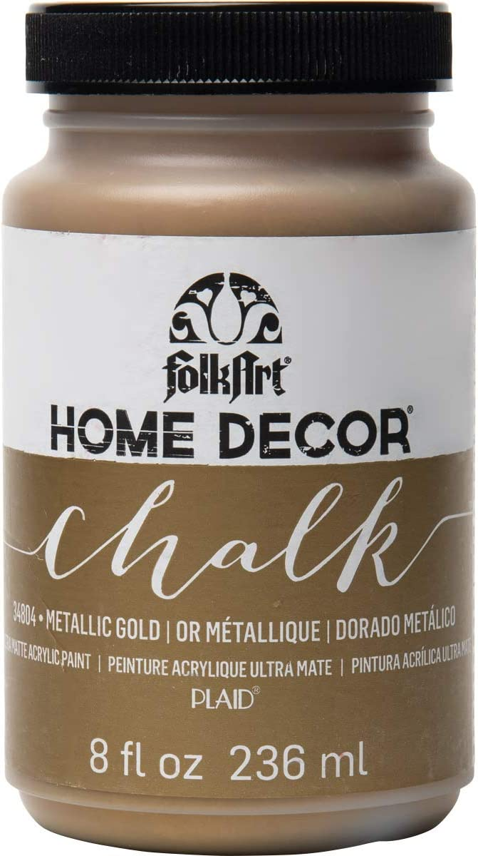 FolkArt Home Decor Chalk Furniture & Craft Paint in Gold