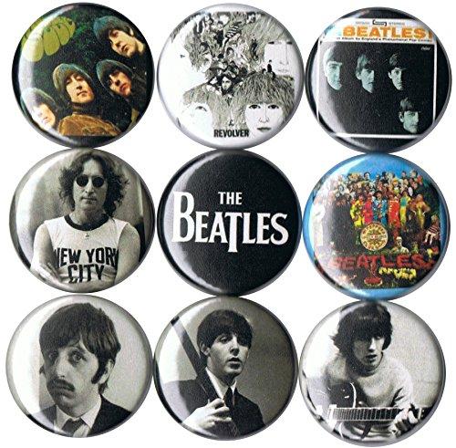 Set of 9 Beatles 1