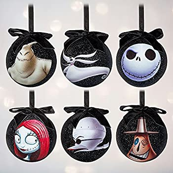 tim burtons the nightmare before christmas sketchbook ornament set