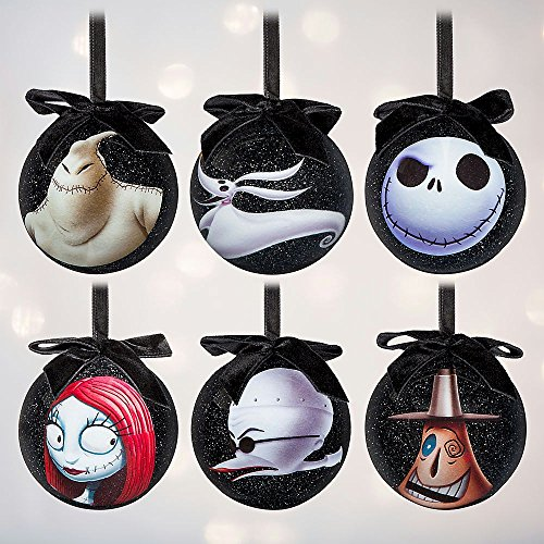 Tim Burton's The Nightmare Before Christmas Sketchbook Ornament Set (Mayor Christmas Nightmare Ornament Before)