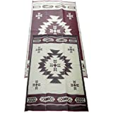 Amazon Com Fireside Patio Mats Neutral Leather Brown 6 Ft