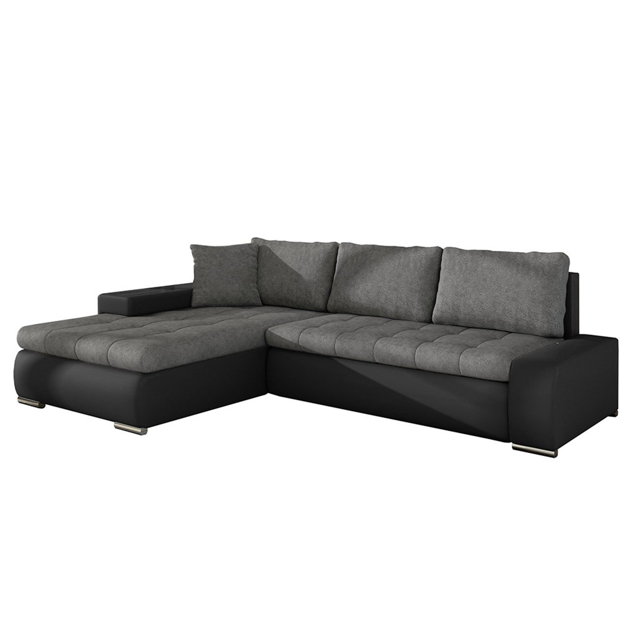 elegante sofa orkan mini loft mit schlaffunktion und bettfunktion eckcouch ecksofa mit. Black Bedroom Furniture Sets. Home Design Ideas