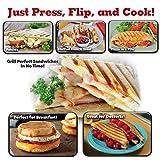 BulbHead Copper Flipwich Non-Stick Grilled Sandwich