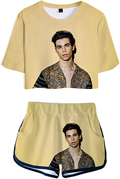 NCTCITY R.I.P. Cameron Boyce Crop Tops T-Shirts + Pantalones ...