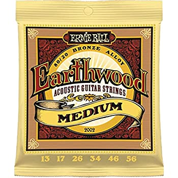 12 sets bulk ernie ball earthwood 80 20 bronze medium gauge acoustic guitar strings. Black Bedroom Furniture Sets. Home Design Ideas
