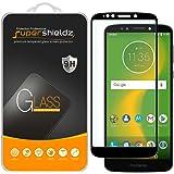 (2 Pack) Supershieldz for Motorola (Moto E5 Plus) Tempered Glass Screen Protector, (Full Screen Coverage) Anti Scratch, Bubbl